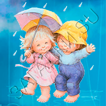 Потешки про дождик