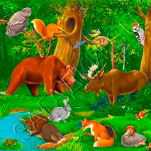 Потешки про животных