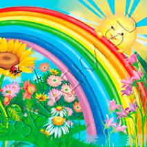 Потешки про радугу